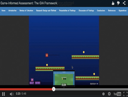 Video 4: The Game-Informed Assessment Framework